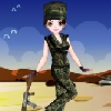 Army Girl Dressup