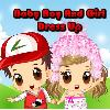 Baby Boy And Girl Dress Up