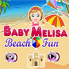 Baby Melisa Beach Fun