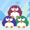 Colorful Penguins