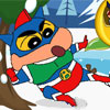 Crayon Shin Snowball Fight
