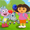 Dora Boots Forest Find Treasure