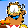 Garfield Eats Hamburgers