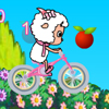 Goat on Bike