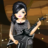 Guitar Music Show Girl
