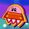 Kirby Airship Flying