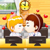 Kissing in the Office