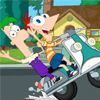 Phineas And Ferb Crazy Motorcycl