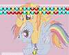 Rainbow Dash and Spitfire Bubble